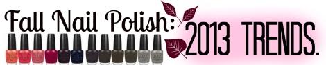 Fall Nails Blog