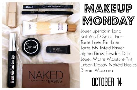 Makeup Monday 1014 Post
