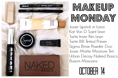Makeup Monday 1014 Post