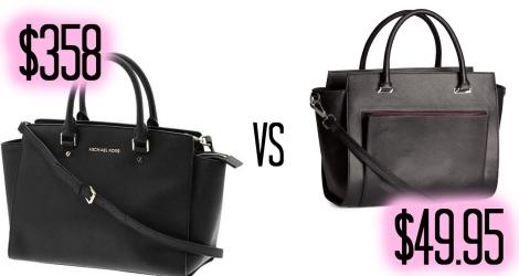 Splurge vs Save Black Bag Blog